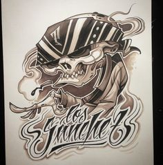 Character Inspiration, Character Art, Evil Skull Tattoo, Cholo Art, Work Pictures, Tattoo Sketches, Black And Grey Tattoos, Art Reference, Photo And Video