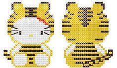 Llavero Hello Kitty Tigre