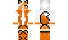 minecraft skin Girl-Fox Find it with our new Android Minecraft Skins App: https://play.google.com/store/apps/details?id=studio.kactus.girlskins