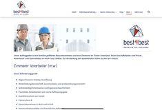 Ein best4best Jobangebot! Success, Movie Posters, Further Education, Building Contractors, Film Poster, Film Posters, Poster