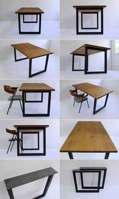 📌 67 Dining Room Design He Will Surely Dining Table Sizes, Dining Table Design, Dining Tables, Metal Furniture, Diy Furniture, Furniture Design, Bedroom Furniture, Simple Furniture, Kitchen Furniture