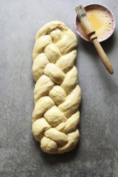 This Polish Egg-Twist Bread recipe or chałka often features raisins. It is popular at Christmas and Easter but is eaten year-round as well.