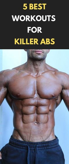 5 Best Workouts For Killer Abs  #fitness #bodybuilding #gym #Abs #workout #sixpack
