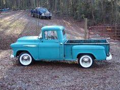 old chevy trucks photo: 1957 Chevy 3100 Truck my57withwhites006.jpg