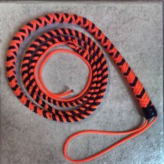 Have a lot of paracord at your disposal?! Check out this incredible tutorial for making your own paracord whip!http://www.instructables.com/id/Paracord-Whip-1/
