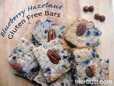 Blueberry Hazelnut Breakfast Bars