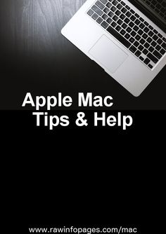 Top tips and help for Apple Mac users. Your best source of information about how to master your Mac. Macbook Desktop, Macbook Air, Mac Tips, Mac Laptop, Apple Mac, Apple Products, Pinterest Marketing, Cards Against Humanity, Technology