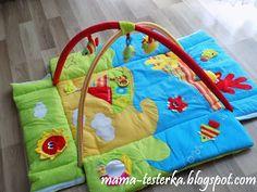 mama-testerka: Kolorowy ocean - Wielofunkcyjna mata edukacyjna 3 ...