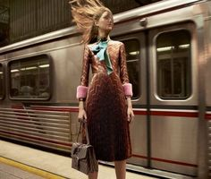"dinnerwithannawintour: ""Gucci Fall 2015 by Glen Luchford """