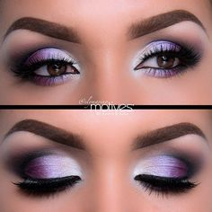 Purple Eyes Shadow!
