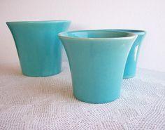 Vintage Bauer Pottery Spanish Flower Pot by AletaFordBakerDesign - 30.00