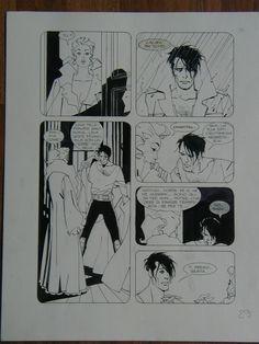 Nathan Never 19 Comic Art