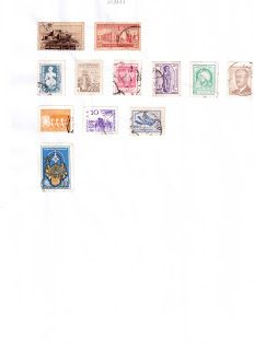 Books and Stamps collection: Stamps collections