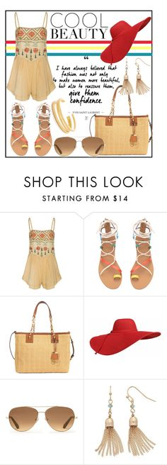 """Summer Beauty"" by hastypudding ❤ liked on Polyvore featuring All That Remains, MICHAEL Michael Kors, Stella & Dot, LC Lauren Conrad, Madewell, Summer, fashionset and polyvoreeditorial"
