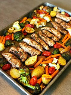 Let me introduce you to the perfect Summer meal, one pan balsamic chicken! - - Let me introduce you to the perfect Summer meal, one pan balsamic chicken! There is hardly any prep time but tons of flavor! The added bonus is how he. Healthy Dinner Recipes For Weight Loss, Clean Eating Recipes For Dinner, Healthy Summer Recipes, Dinner Ideas Healthy, Heart Healthy Recipes, Healthy Vegetable Recipes, Weight Loss Meals, Healthy Meals For One, Healthy Lunches