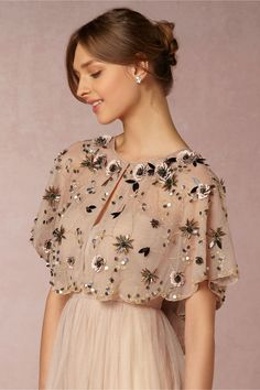 BHLDN Madeline Capelet in New at BHLDN