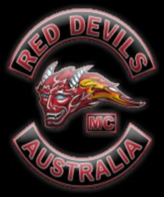 Red Devils MC - Respect Motorcycle Logo, Motorcycle Clubs, Bike Gang, Biker Clubs, Hells Angels, Biker Patches, Cool Bikes, Cut And Color, Red And White