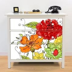 Our tips for revamping your dining room chairs - HomeDBS Hand Painted Furniture, Funky Furniture, Refurbished Furniture, Ikea Furniture, Colorful Furniture, Paint Furniture, Repurposed Furniture, Furniture Projects, Furniture Makeover