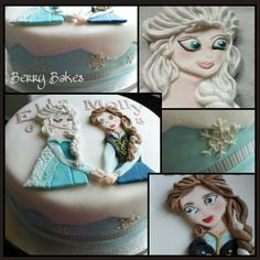 Frozen cake by Berry Bakes