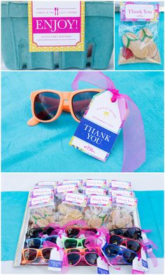Adorable Lilly Pulitzer Party favors #coolglow #partysupplies