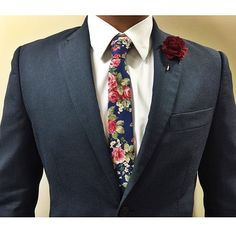 """For the Gents! ($10) Plum Burlap Lapel Pin ($20) Blue Rose Necktie Styled by @uhhray  Lapel Flowers On Sale: 3 for $25 