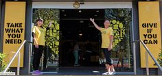 OzHarvest are hoping to revolutionise the grocery world while gently pointing out how insane a societal system is where people go hungry while four million tonnes of food rots in Australian landfills each year, slowly