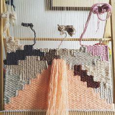 Weaving in progress by A Girl Named Hello  @ girlnamedhello