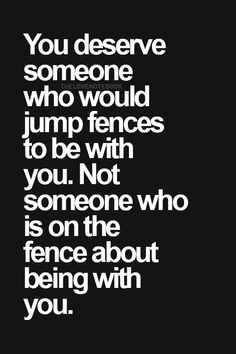 Or who was CONSTANTLY searching for other guys and consistently running away from the relationship