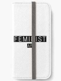 Feminist AF Design available across a wide range of products - Link in bio 💪🏻   #feminist #feminism #equalrights #equal #rights #womensrights #women #men #woman #activist #march #distressed  #giftideas #gift #giftsforher #vote #metoo #feministquotes #feministaf #feminismisforeverybody #hustle  #motivate #motivation #iphone #samsung #wallet #phonewallet #phone #case