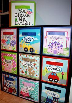 Vehicle Cars Fabric Bin Boy's Bedroom Baby Nursery by ToadAndLily