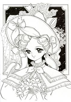 Japanese Shoujo Coloring Book 1 - Mama Mia - Picasa Web Albums
