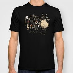 Tribute for Miyazaki T-shirt by le.duc - $22.00