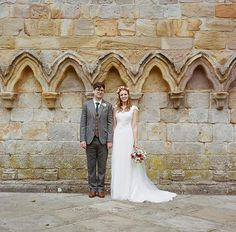 A Floral Crown in Copper Rose and Maids in Emerald Green | Love My Dress® UK Wedding Blog