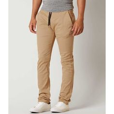 Imperial Motion Chapter Chino Jogger Pant - Khaki 34/32 ($60) ❤ liked on Polyvore featuring men's fashion, men's clothing and khaki