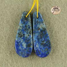 EA15742  Beautiful Lapis Lazuli Earrings Bead by Artiststone