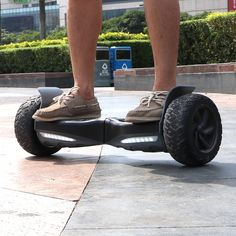 Smart-Hovebroards always make hoverboard more smarter and more safe.Pay much attention to improve the user experience. This new All Terrain Self Balancing Elect Two Wheel Scooter, Scooter Design, Electric Scooter, Offroad, Monster Trucks, User Experience, Stuff To Buy, Board, Electric Moped Scooter