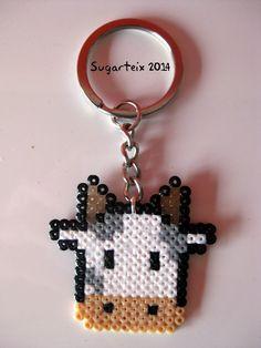 Llavero cabeza de vaquita. Si te gusta puedes adquirirlo en nuestra tienda on-line: http://www.sugarshop.eu