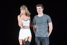 Taylor having the crowd sing happy birthday to Shawn Mendes // 1989 Tour: Seattle