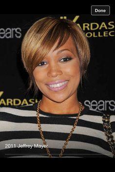 Loves Monica's hair, simple cut nice style