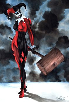 Harley Quinn by Mike Rooth