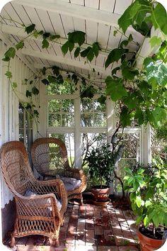Portico legno bianco