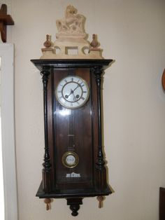 I made some for the bottom, as those balls would not be proper on these clocks.