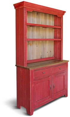 Sideboard, Hutch & Buffet, Reclaimed Wood, China Cabinet, Buffet, Farmhouse, Rustic, Server, Handmade, Farmhouse #afflink