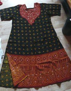 Salwar Kameez Bollywood Kleid indisch 3 teilig Baumwolle 46 48 XXL TOP!