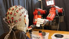 Brain-Controlled Robot Developed Could Do What Humans Are Thinking : Tech : Science World Report Mind Mapping Techniques, Make A Robot, How To Become Smarter, Robot Arm, New Laptops, Human Mind, Self Driving, Screwed Up, Science