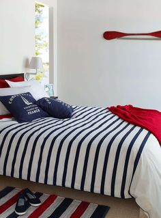 🌟Tante S!fr@ loves this📌🌟Shop Comforters, Duvet Covers & Duvet Cover Sets Online in Canada Nautical Bedding, Nautical Home, Men Home Decor, Home Decor Trends, King Bedding Sets, Comforter Sets, Home Bedroom, Girls Bedroom, Bedroom Themes