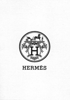 Hermes logo. Paris