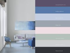 Plascon's colour stories 2017 - SA Decor & Design House Color Schemes, Colour Schemes, House Colors, Colour Chart, Plascon Paint Colours, Paint Color Palettes, Color Stories, Color Pallets, Office Interiors