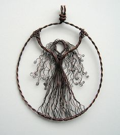 Intricate goddess/tree of life