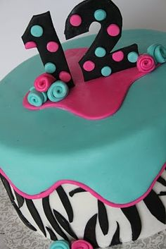 Nice Cakes On Pinterest Birthday Cakes Sweet 16 And